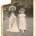 Veronica on Left and Christine, sisters of Rita Elston (Now Rita Ayers).